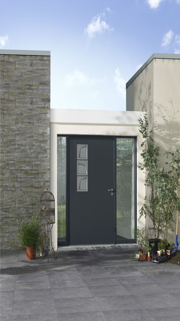 porte aluminium avantages de l installation et prix. Black Bedroom Furniture Sets. Home Design Ideas